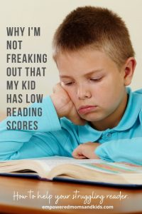 struggling reader