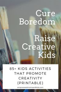 kids activities creativity