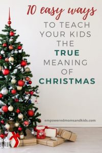 Teach kids about Christmas