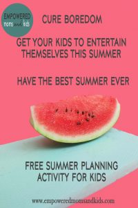 summer activity for kids