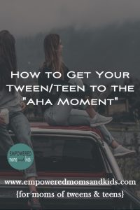 how to talk to your tween