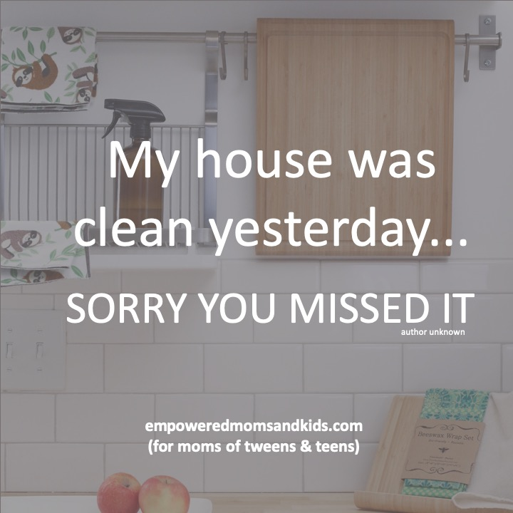 get your teenager to do chores