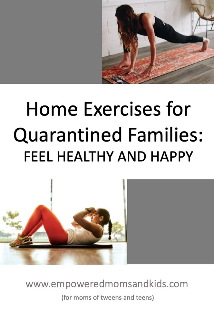 home exercises for teens