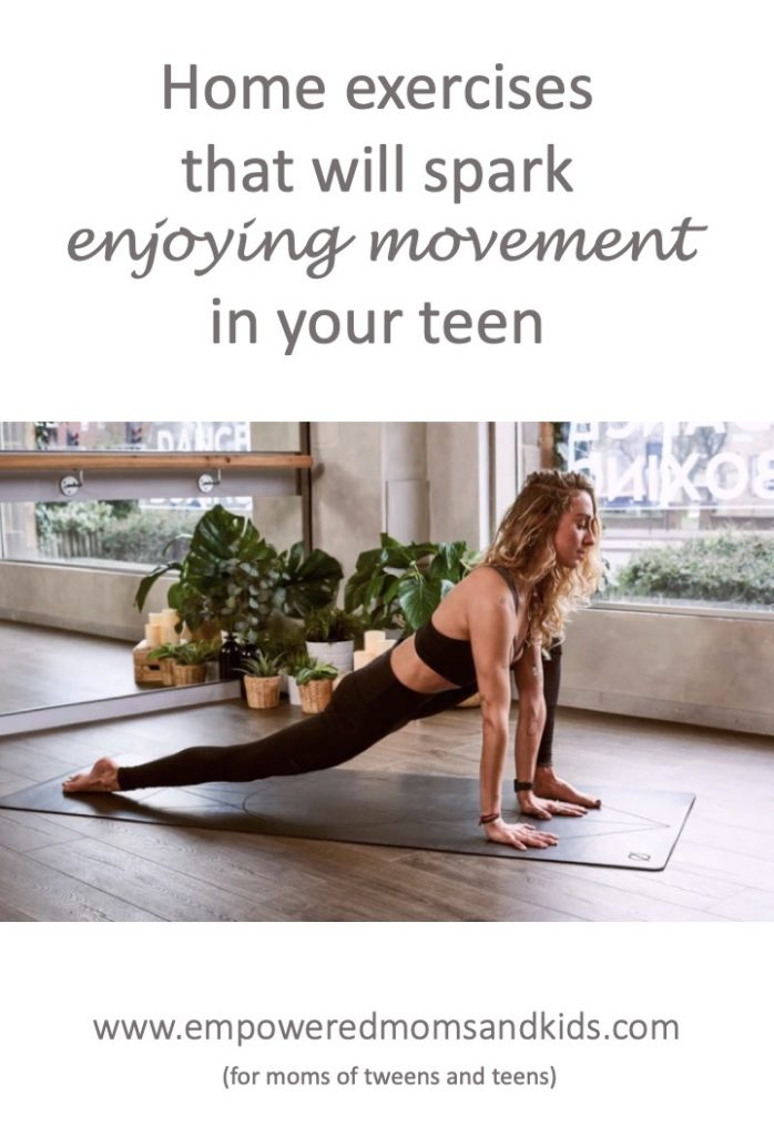 exercise ideas for teens
