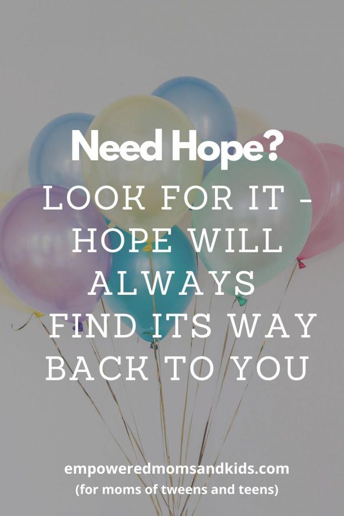 need hope