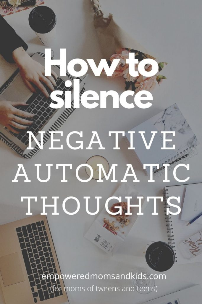 negative automatic thoughts