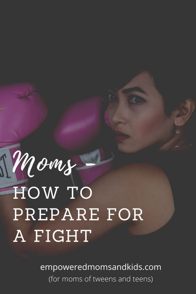 how to prepare for a fight