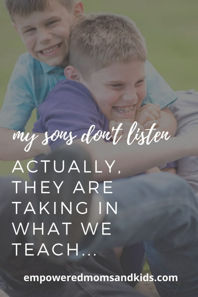 My kids don't listen