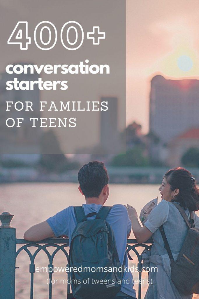 conversations starters teens